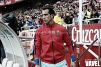 El retorno de Claudio Bravo al Camp Nou
