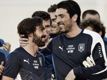"Buffon bids emotional farewell to ""friend"" Pirlo"