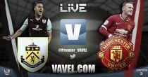 Burnley vs Manchester United en vivo y en directo online