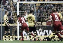 Bellarabi y Kiessling no dejan ni empezar al Dortmund