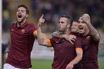 La Roma batte il Parma 2-1, decide Pjanic su punizione