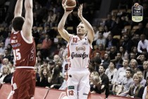 LegaBasket Serie A - Reggio torna a vincere al PalaBigi, Pistoia cede il passo agli emiliani (77-68)