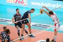 Volley M - Le prime 3 semifinaliste della Del Monte Coppa Italia sono: Diatec Trentino, Azimut Modena e a sorpresa Lpr Piacenza