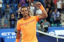 Tennis, Mubadala World Tennis Championship - Nadal spezza la resistenza di Goffin e vince il torneo