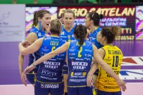 Volley - L'Imoco vince 3-0 contro Bolzano e conquista le final four di Coppa Italia