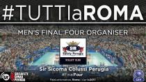 Volley M - La Sir Safety Perugia organizzerà la prossima Final Four di Cev Champions League