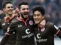 FC St. Pauli 2-0 Dynamo Dresden:Freibeuter win again to move off the basement