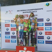 Dahlmeier claims Individual win for third gold at 2017 Biathlon World Championships