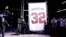 "Los Pistons retiran el ""32"" de Richard Hamilton"