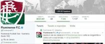 Perfil oficial do Fluminense no Twitter chega a um milhão de seguidores