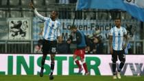 1860 Munich 2-1Würzburger Kickers: Ba and Liendl move Lions away from danger