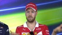 F1 - Gp d'Australia, le sensazioni di Vettel in conferenza stampa
