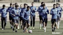 El Málaga arranca la semana con la vista puesta en el Atlético de Madrid
