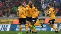 Dyanmo Dresden 2-0 SV Sandhausen: Berko and Heise end home drought