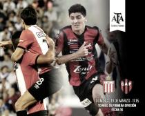 Partido Estudiantes de La Plata - Patronato en Liga Argentina 2017