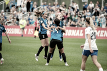 Sydney Leroux and Amy Rodriguez get FC Kansas City opening day win against the Boston Breakers