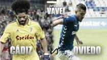 Previa Cádiz CF - Real Oviedo: el Cádiz a la busca de su particular 'vendetta'