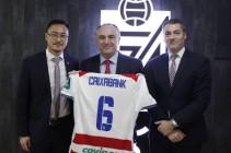 El Granada CF y CaixaBank renuevan el acuerdo de patrocinio