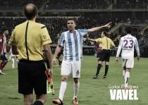 Amonestados del Málaga CF frente al Atlético de Madrid