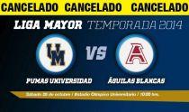 Suspenden el clásico en ONEFA: Pumas CU - Águilas Blancas