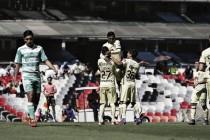 Las Águilas golean a Santos Laguna en la Sub-20