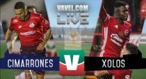 Cimarrones vs Xolos en vivo online en Copa MX 2017 (1-0)