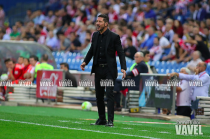 """Simeone: """"Necesitamos hacer un buen partido para ganar"""""""
