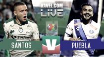 Santos vence a un endeble Puebla y mantiene el invicto