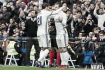 Morata y Bale le dan los tres puntos al Madrid ante un Espanyol sin nervio