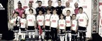Keylor Navas inaugura el II Clínic de la Fundación Real Madrid
