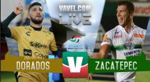 Resultado y goles del partido Dorados vs Zacatepec Liguilla Ascenso MX (4-0)
