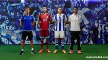 La Real Sociedad presenta las nuevas equipaciónes