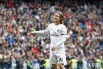 Luka Modric, elegido como el mejor del Granada - Real Madrid