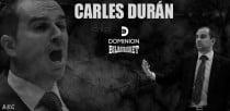 Carles Durán se pone al mando de Dominion Bilbao Basket