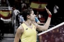 Carolina Marín debuta con una cómoda victoria