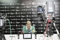 """Monteagudo: """"El equipo ha jugado muy bien, el 1-2 es demasiado corto"""""""