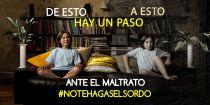 'No te hagas el sordo', el nuevo spot en contra de la violencia doméstica