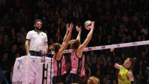 Volley, A1 femminile - A Santo Stefano l'ultima di andata: Casalmaggiore è regina d'inverno