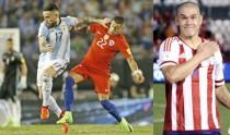 Nicolás Castillo y Darío Verón tienen actividad en Eliminatorias