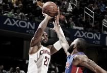 NBA Playoffs 2016, Cavaliers-Pistons: luces, cámara y acción