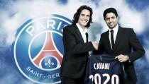 Cavani se queda en París hasta el 2020