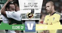 Resumen Elche CF 2-3 Cádiz CF en Segunda División 2017
