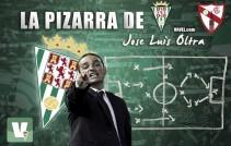 La pizarra de Oltra: Córdoba - Sevilla Atlético, derrota en el último suspiro