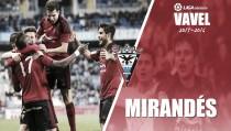 Resumen temporada Mirandés 2015/2016: Cuarto año en la élite y una Copa para el recuerdo