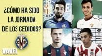 Minutos para los cedidos del Villarreal