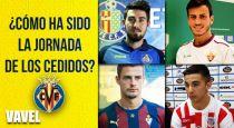 Mala jornada de los cedidos del Villarreal
