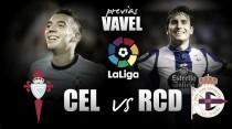Previa Celta de Vigo - Deportivo de la Coruña: ganas de derbi