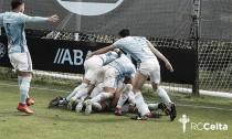 El Celta B asegura su presencia en el play-off de ascenso