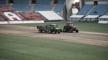 Nuevo césped para el Estadio de los Juegos Mediterráneos
