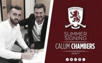 Middlesbrough sign Calum Chambers on season-long loan